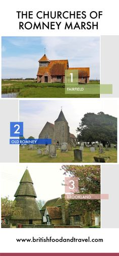 The Churches of Romney Marsh - British Food and Travel Romney Marsh, British Travel, British Countryside, Where To Go, Coast, England, Explore, Mansions, House Styles