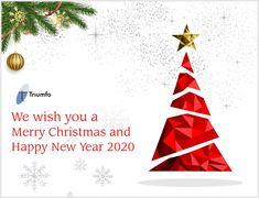 Triumfo Inc. wishes you all a #Merry #Christmas and #Happy #New #Year. We look forward to serving you in the New Year.