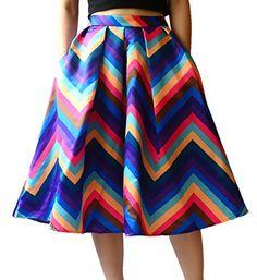YSJ Women's High Waist A-Line Pleated Skirts Flower Print OL Party Midi Dress (M, Flower) YSJ http://www.amazon.com/dp/B00STB9CVK/ref=cm_sw_r_pi_dp_V.XGvb11EQC4X