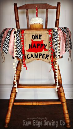 Hey, I found this really awesome Etsy listing at https://www.etsy.com/listing/225340837/one-happy-camper-camping-boy-cabin