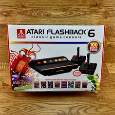 Atari Flashback 6 Classic Game Console & 100 Games with 2 wireless controllers 100 Games, Console, The 100, Amp, Classic, Derby, Classic Books, Consoles