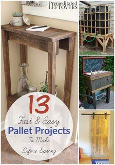 13 Easy DIY Pallet P