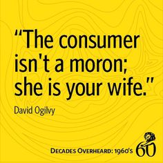 """Decades Overheard: 1960s 