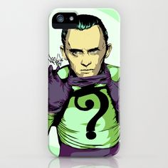 Why E. Nigma? iPhone & iPod Case by Vee Ladwa - $35.00