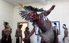 índios da aldeia Fulni-Ô, da reserva de Águas Belas, Pernambuco. Curitiba, 19/04/2012 Foto: Irene Roiko/FAS