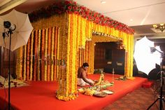 Flowers Of Prosperity - Marigold Decor Shribha Decor Decor Wedding Hall Decorations, Marriage Decoration, Backdrop Decorations, Church Decorations, Flowers Decoration, Wedding Mandap, Wedding Church, Wedding Table, Wedding Reception