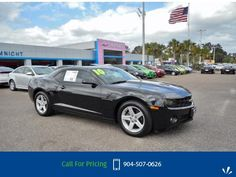 2010 Chevrolet Chevy Camaro 1LT  Black Call for Price  miles 904-507-0626 Transmission: Automatic  #Chevrolet #Camaro #used #cars #NimnichtChevrolet #Jacksonville #FL #tapcars