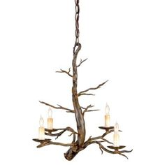 Treetop Chandelier by Currey