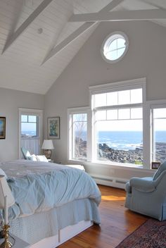 This coastal cottage is perched just a bit above the ocean that has carved out the rugged Maine coastline. The interior is a haven where the residents watch the ocean . Read moreA Quiet Cottage on a Craggy Coast Beach Cottage Style, Coastal Cottage, Beach House Decor, Coastal Style, Coastal Decor, Modern Coastal, Cottage Art, Cottage Living, Coastal Farmhouse