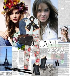 """""""Summer to fall: denim ♥"""" by dora04 ❤ liked on Polyvore"""