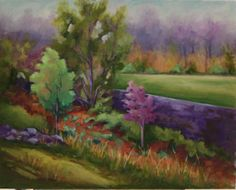 Spring Fever   oil on canvas   16x20  $500