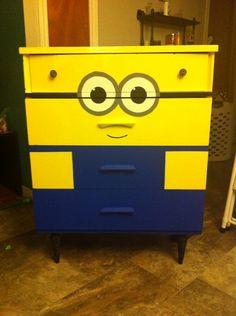 Minion dresser, despicable me