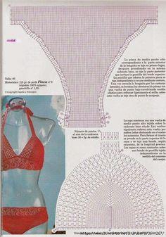 Quelli che vi posto oggi, sono degli schemi per bikini. Tra questi potete scegliere diversi modelli per la parte sopra. Inoltre potete decid...