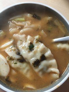 Spicy Dumpling Soup