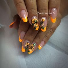 Here are some hot nail art designs that you will definitely love and you can make your own. You'll be in love with your nails on a daily basis. Bling Nails, My Nails, Cute Nails, Pretty Nails, Gel Nail Art Designs, Latest Nail Art, Nail Patterns, Flower Nail Art, Nail Decorations