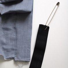 DIY la jupe froncée - Les Tissus du Chien Vert Techniques Couture, Trombone, Fashion, Dressmaking, Couture Skirts, Couture Facile, Types Of Skirts, Moda, Fashion Styles