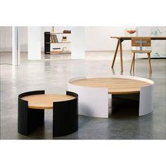 Table basse Moon S Gris Jan&Lara : PROMO design Universo Positivo - Design Ikonik
