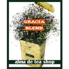 "Tea Shop / Campaña te ""Gracia blend"" / by ehsgrafic"