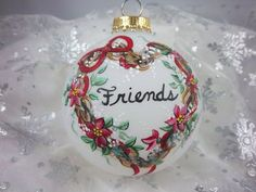21 Awesome Hand-Painted Christmas Ornament by Barbara - Home Design and Home Interior | Hometrendesign.com