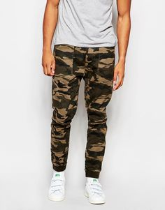 Abercrombie+&+Fitch+Cuffed+Jogger+In+Camo