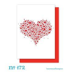 A Starry Heart. via Etsy.