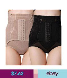 74d03c41ec Shapewear Slimming Underwear Abdomen High Waist Cincher Hip Body Corset  Control Pants  ebay  Fashion