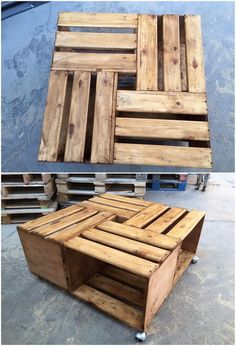 Using a wood pallet for creating a table for your household purposes is one of the cutest idea so far. As you can view right here, the designing of the table is much simple and hence durable wood pallet has been creatively used into it. You can locate this table in any corner of the house and take advantage of its amazing uses.