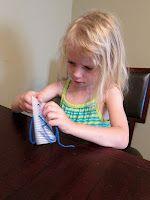 Pre-sewing for Preschoolers