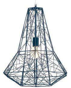 The Athena geometric pendant light at PureModern. $315.