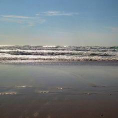 #mimizan  #mimizanplage  #plage  #ocean  #landes  #cotedargent #vagues  #mareemontante  Hâte d'y retourner...
