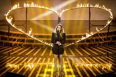 Celine Dion -- Birthplace: Charlemagne, Quebec. Near, far...wherever you are, her French-Canadian heart will go on.