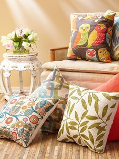 Discover hundreds of accent pillows at prices up to 70% off! The best and easiest way to change up the look and feel of your space. Mix and Match colorful prints and patterns!