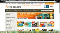 We just launched a #new #site redesign. Check it out at http://www.findtape.com/.