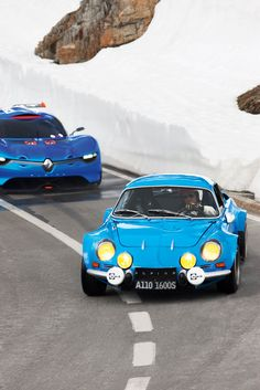 Sportscar Legacies: Then and Now - 2012 Renault Alpine Is A Blend of 1964 and Berlinette Bugatti, Lamborghini, Ferrari, Alpine Renault, Renault Sport, Rally Car, Car Car, Peugeot, Matra
