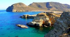 La plage del Playazo est l'une des plus somptueuses du parc naturel de Cabo de Gata, en Espagne