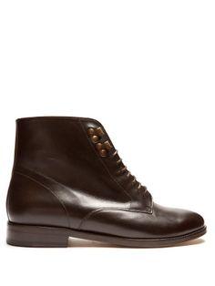 Frances leather ankle boots  | A.P.C. | MATCHESFASHION.COM UK