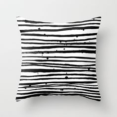 stripes palooza Throw Pillow
