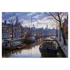 Educa 1500 Parça Puzzle Amsterdam in the Evening