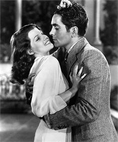 Rita Hayworth and Tyrone Power in Blood and Sand, 1941.