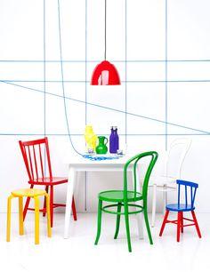 Primary Colors, Interior, Styling via Entermyattic