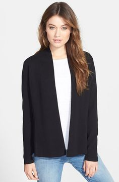 Eileen Fisher Fitted Sweater Jacket (Regular & Petite) available at #Nordstrom