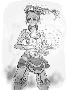 Reference for Aria Fire Emblem Awakening, Female Robin Fire Emblem, Twilight Princess, Princess Zelda, Fire Emblem Games, Manga, Art And Architecture, Game Art, Skyward Sword