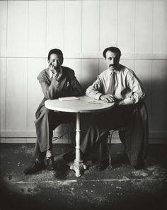 Irving Penn  American, 1917–2009, Arshile Gorky & Wifredo Lam (B), New York