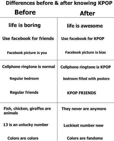 Everything except my facebook picture. I know you guys can relate ~