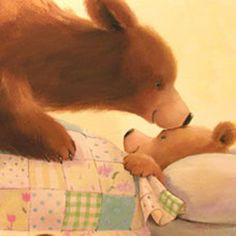 Fresh collection of illustrations for children's books: cute and touching polar and brown bears in the artworks by famous illustrator Alison Edgson. Illustration Mignonne, Children's Book Illustration, Book Illustrations, Art D'ours, Image Halloween, Love Bear, Bear Art, Art Blog, Good Night