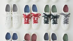 Customisable Sneakers MUJI Online Store.
