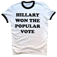 'Popular Vote' Ringer Shirt
