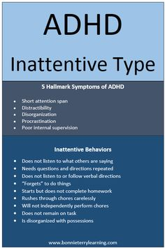 The first subtype of ADHD is the inattentive type. This is the child who is often labeled the daydreamer. Strategies for ADHD inattentive type are included.
