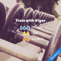 Train with Vigor - Essential Oil Diffuser Blend