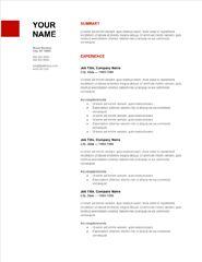 google doc template resumes